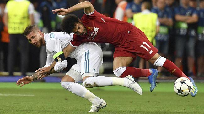 Mohamed Salah menyatakan dirinya tak lagi memikirkan insiden lawan Sergio Ramos jelang perempat final Liga Champions musim ini.