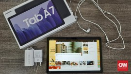 Review Samsung Galaxy Tab A7, Tablet Android Rp4 Jutaan