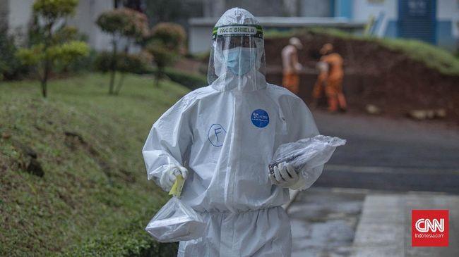 Penambahan kasus baru virus corona di Indonesia masih terjadi. Masyarakat diimbau untuk tetap mematuhi protokol kesehatan.
