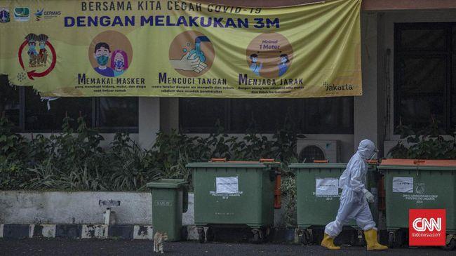 Jumlah kasus positif Covid-19 di Indonesia bertambah 8.054 menjadi 1.271.353 pada Sabtu (20/2). Kasus aktif saat ini berjumlah 158.197.
