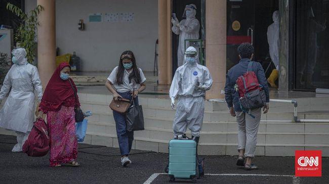 Sebanyak lima provinsi mencatat kasus aktif Covid-19 tertinggi, meliputi Jawa Barat, Jawa Tengah, DKI Jakarta, Papua, hingga Riau per Senin (14/6).