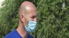 VIDEO: Pelatih Madrid, Zinedine  Zidane Jalani Isolasi