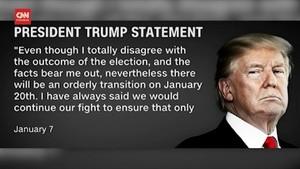VIDEO: Trump Akhirnya Setuju Serahkan Kekuasaan ke Biden