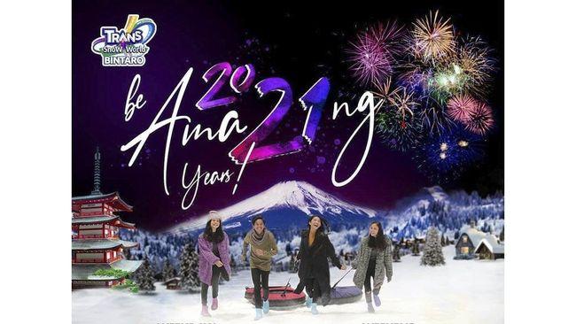 Sudah menentukan tujuan liburan akhir pekan ini? Yuk, ke Trans Snow World Bintaro dan Bekasi, ada promo Buy 1 Get 1 Free mulai dari Rp175 ribu.