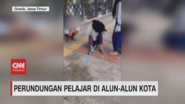 VIDEO: Viral Perundungan Remaja Perempuan di Alun-alun
