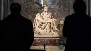 FOTO: Menengok Hening Karya-karya Adiluhung Gereja Roma