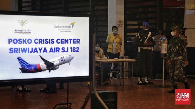 Sriwiajaya Air SJ182 diperkirakan jatuh di antara Pulau Laki dan Pulau Lancang, Kepulauan Seribu dengan kedalaman 20-23 meter.
