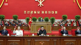 VIDEO: Kim Jong-un Sebut AS Musuh Besar Korut