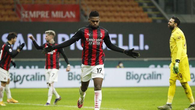 AC Milan berhasil mengalahkan Torino 2-0 pada pekan ke-17 Liga Italia di San Siro, Minggu (10/1) dini hari WIB.