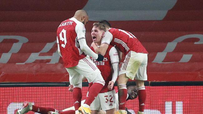 Arsenal berhasil mengalahkan Chelsea dengan skor 1-0 dalam laga Liga Inggris di Stadion Stamford Bridge, London, Kamis (13/5) dini hari WIB.