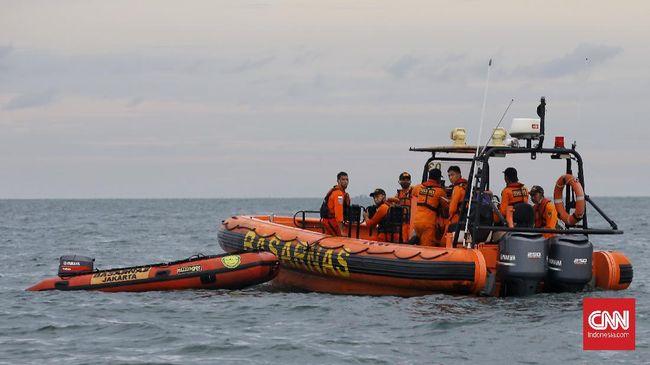KN SAR Kamajaya, kapal milik Basarnas menambah armada pencarian kapal selam KRI Nanggala-402 yang hilang kontak di perairan Bali, Rabu (21/4) dini hari.