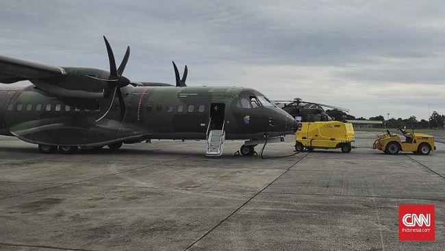 TNI AU mulai mengerahkan pesawat-pesawat untuk membantu pencarian udara pesawat Sriwijaya Air SJ 182 yang jatuh di perairan Kepulauan Seribu.