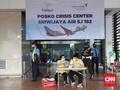 Posko Bandara Soetta Terima 34 Laporan Keluarga SJ 182