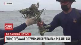 VIDEO: Puing Pesawat Ditemukan di Perairan Pulau Laki