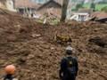 Lima Pekerja Proyek Tertimbun Longsor di Karo, 3 Masih Hilang