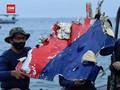 VIDEO: Tim Pencari Temukan Dinding Pesawat Sriwijaya SJ 182