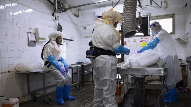 Studi yang dilakukan oleh tim ahli China memperkirakan angka kematian global akibat Covid-19 menyentuh 5 juta jiwa pada Maret 2021.