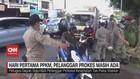 VIDEO: Hari Pertama PPKM, Pelanggar Prokes Masih Ada