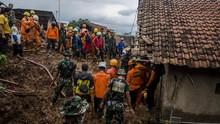 Korban Tewas Longsor Sumedang Jadi 38 Orang, 2 Masih Hilang