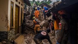 Korban Longsor Sumedang: 36 Tewas, 4 Orang Hilang