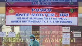 DVI Masih Tunggu Sampel DNA dari 3 Keluarga Korban Sriwijaya