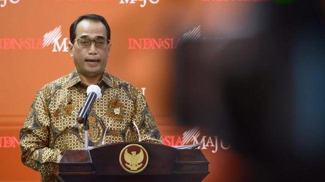 Menteri Perhubungan Budi Karya Sumadi mengumumkan pembatasan penerbangan dari India menuju Indonesia dengan tidak ada penerbangan reguler.