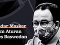 INFOGRAFIS: Standar Masker dalam Aturan Anies Baswedan