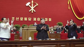 FOTO: Makin Berkuasa, Kim Jong-un Jadi Sekjen Partai Buruh