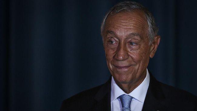 Presiden Portugal, Marcelo Rebelo de Sousa, dinyatakan negatif virus corona (Covid-19) setelah di hari yang sama divonis positif.