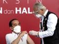 Jokowi Usai Disuntik Vaksin: Ikhtiar Terbebas dari Pandemi