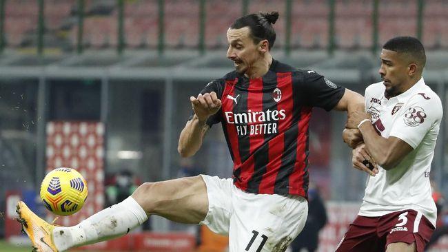 AC Milan menyingkirkan Torino lewat skor 5-4 (0-0) dalam drama adu penalti pada babak 16 besar Coppa Italia di San Siro, Rabu (13/1) dini hari WIB.