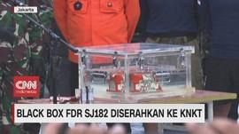 VIDEO: Black Box FDR SJ 182 Diserahkan ke KNKT