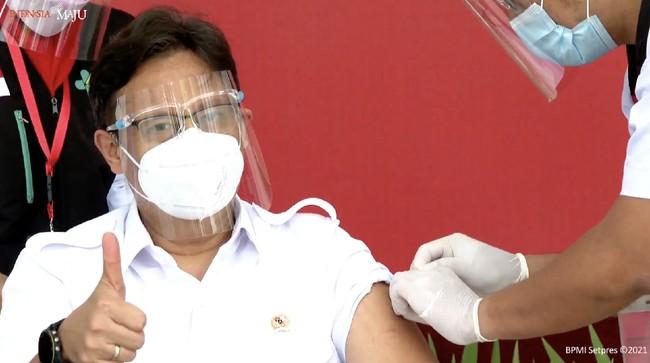 Menkes Yakin Capai Vaksinasi 2 Juta Dosis Sehari pada Agustus