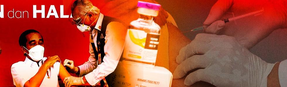 Suntik Perdana Vaksin Corona