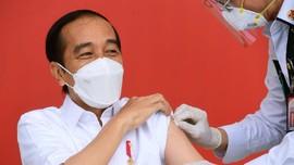 Jokowi Kembali Disuntik Vaksin Covid-19 Besok