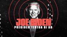 INFOGRAFIS: Joe Biden, Presiden Tertua di AS