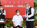 Presiden Jokowi Kembali Divaksin Covid-19 Pagi Ini