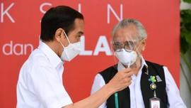 Jokowi Terima Laporan Kendala Distribusi Vaksin di Kepri