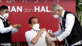 Jokowi dan 5 Kepala Negara Telah Disuntik Vaksin Corona