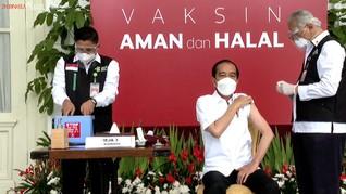6 Bulan Disuntik Sinovac, Jokowi Belum Terima Vaksin Booster