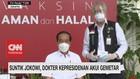 VIDEO: Suntik Jokowi, Dokter Kepresidenan Akui Gemetar