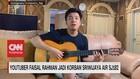 VIDEO: Youtuber Faisal Rahman Jadi Korban Kecelakaan SJ182
