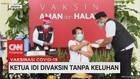 VIDEO: Ketua IDI Divaksin Tanpa Keluhan