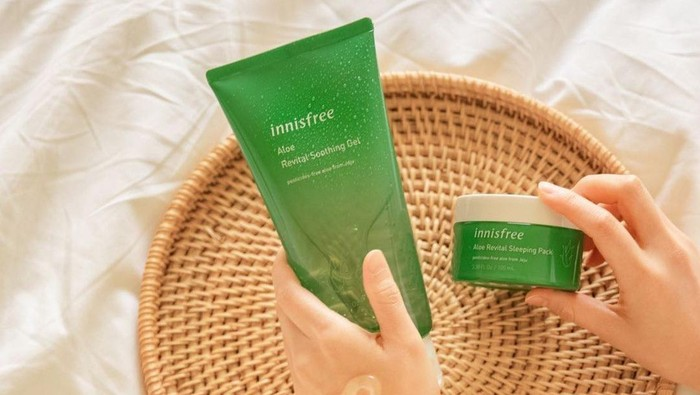 4 Skincare Aloe Vera untuk Meredekan Sunburn, Bikin Kulit Adem