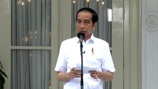 Jokowi Perintahkan Kirim Perahu Karet Bantu Banjir Kalsel