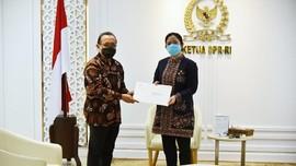 Istana Terima Surat DPR Setuju Listyo Sigit Jadi Kapolri