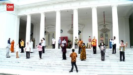 VIDEO: Daftar Penerima Vaksin Covid-19 Perdana Bareng Jokowi