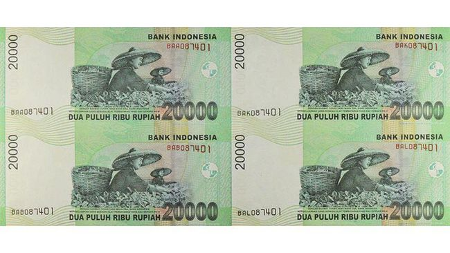 Museum Bank Indonesia menyimpan banyak koleksi mata uang yang pernah beredar di Indonesia. Salah satunya adalah uang bersambung.