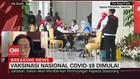 VIDEO: Vaksinasi Nasional Covid-19 Dimulai