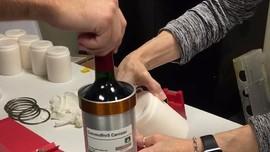 Satu Tahun di Angkasa, Wine Prancis Dikirim Pulang ke Bumi